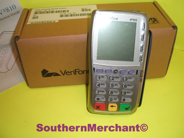 Picture of Verifone VX810 Pin Pad Contactless Card Reader with Smart Card Terminal