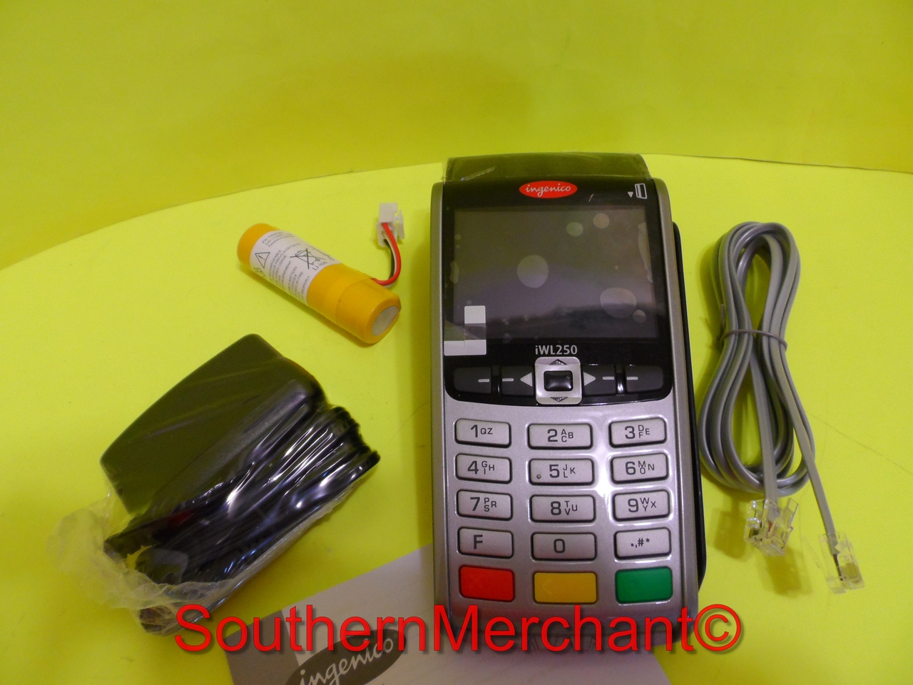 Ingenico iWL250 / 255 Wireless GPRS with Smart Card Terminal