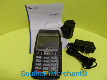 Picture of Verifone VX675 Pin Pad GPRS Contactless with Smart Card Terminal