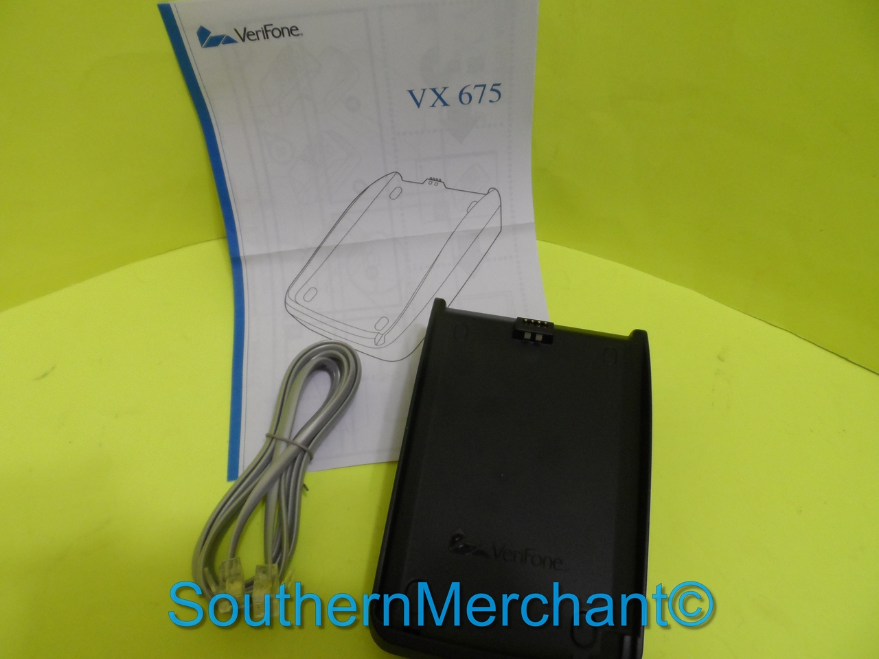 VeriFone VX675 Wireless Full Featured Charging Base