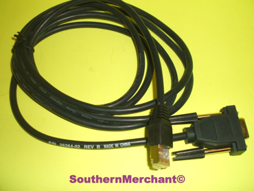Picture of VERIFONE RS232 DOWNLOAD CABLE 26264-02 CREDIT CARD PC