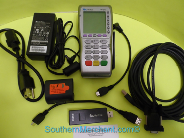 Picture of VeriFone VX670 12 meg Wireless GPRS Smart Card Chip Slot PC Cable Rs232 dongle
